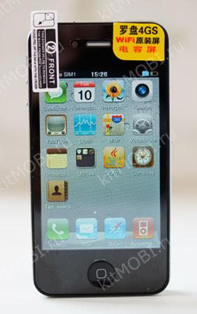 Китайский телефон iPhone 4GS Multithouch